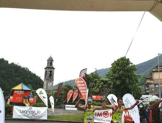 Il duo Zanga/Arrigoni e Vivienne Bonzi i vincitori della Ubiale Mountain Run