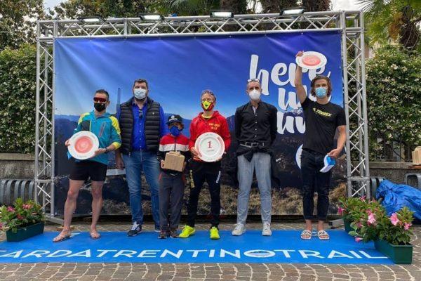 Luca Arrigoni primo a Ledro